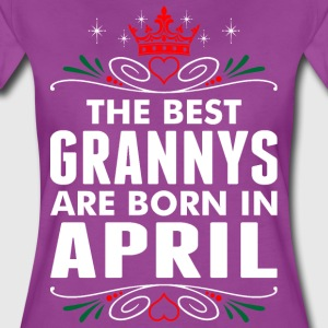 The Best Grannys Are Born In April T-Shirts - Women's Premium T-Shirt