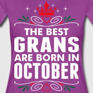 The Best Grans Are Born In October T-Shirts - Women's Premium T-Shirt