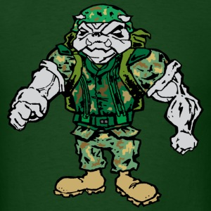 Devil Dog Grunt Guy T-Shirts - Men's T-Shirt
