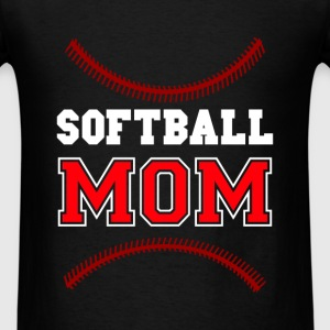 Softball - Softball Mom - Men's T-Shirt
