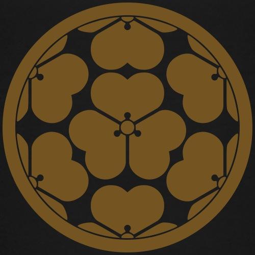 Chosokabe Mon Japanese samurai clan