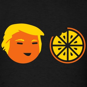 Trump Orange Bite Cartoon T-Shirts - Men's T-Shirt