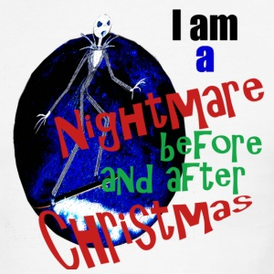 I am a Nightmare Before and After Christmas - Men's Ringer T-Shirt
