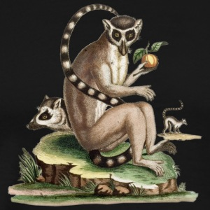 Lemur Artwork - Men's Premium T-Shirt