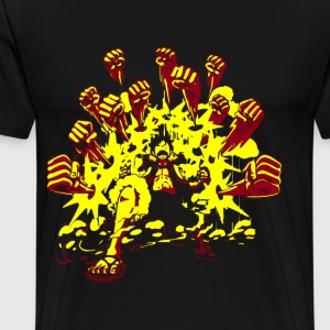 Luffy Brawler - Men's Premium T-Shirt