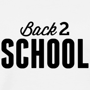 back_to_school - Men's Premium T-Shirt