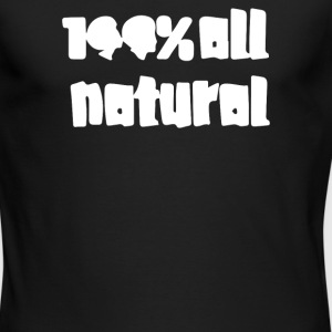 All Natural - Men's Long Sleeve T-Shirt by Next Level