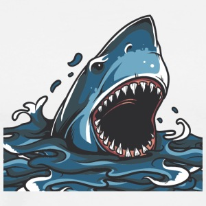 shark_in_ocean - Men's Premium T-Shirt
