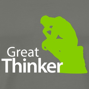 Great Thinker T-Shirts - Men's Premium T-Shirt