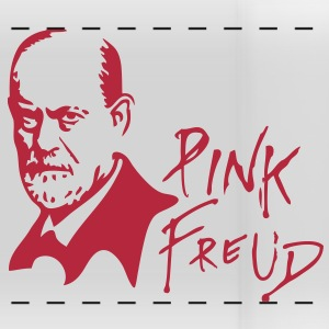 PINK FREUD High Quality Printing for Clear Colors Mugs & Drinkware - Panoramic Mug