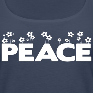 Peace (dark) Tanks - Women's Premium Tank Top