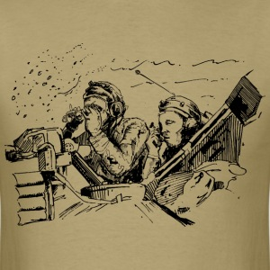 Tank Guys Military T-Shirts - Men's T-Shirt