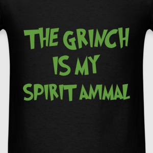 Grinch - The grinch is my spirit animal - Men's T-Shirt