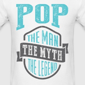 Pop The Man The Myth | T-shirt Gift! - Men's T-Shirt
