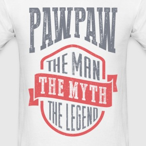 Paw Paw The Man The Myth | T-shirt Gift! - Men's T-Shirt