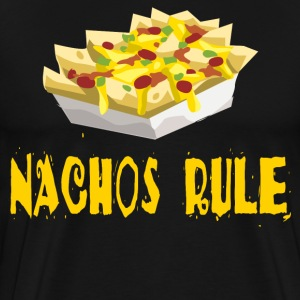 Nachos Rule T-Shirts - Men's Premium T-Shirt