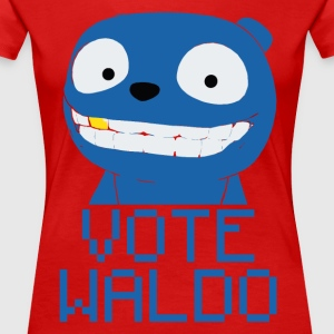 Vote Waldo – Black Mirror T-Shirts - Women's Premium T-Shirt