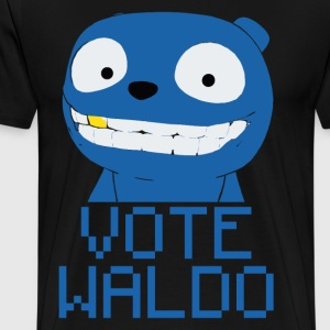 Vote Waldo – Black Mirror T-Shirts - Men's Premium T-Shirt