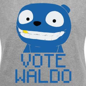 Vote Waldo – Black Mirror T-Shirts - Women´s Rolled Sleeve Boxy T-Shirt