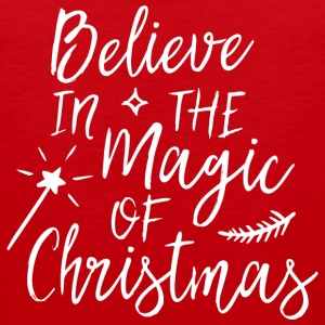 Believe in the magic of Christmas Sportswear - Men's Premium Tank