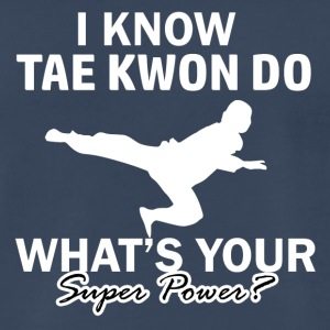 taekwondo design - Men's Premium T-Shirt