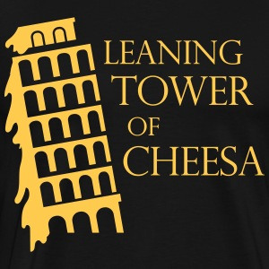 Leaning tower of cheesa T-Shirts - Men's Premium T-Shirt
