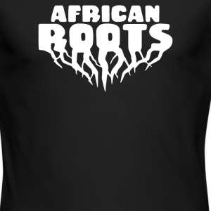 African Roots - Men's Long Sleeve T-Shirt by Next Level