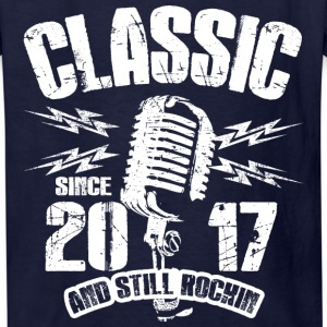 Classic Since 2017 and Still Rockin' - Kids' T-Shirt