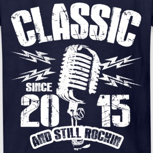 Classic Since 2015 and Still Rockin' - Kids' T-Shirt