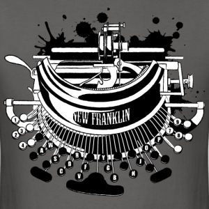 Creative typewriter for men - Men's T-Shirt
