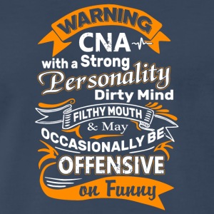 Warning CNA T Shirt - Men's Premium T-Shirt