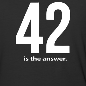 42 Is The Answer - Baseball T-Shirt