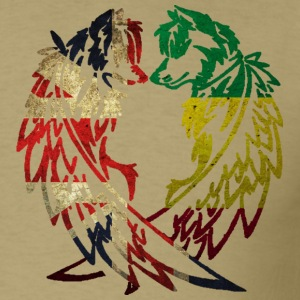 BRITAIN RASTA WOLF LOVE T-Shirts - Men's T-Shirt