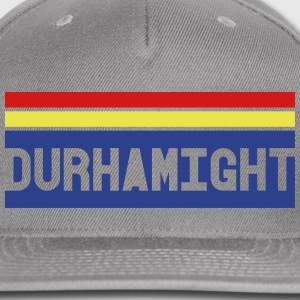 Durhamight text hat - Snap-back Baseball Cap