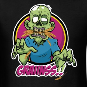 Vegan Zombie - Grains - Men's T-Shirt