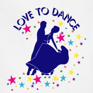 Love to dance Aprons - Adjustable Apron
