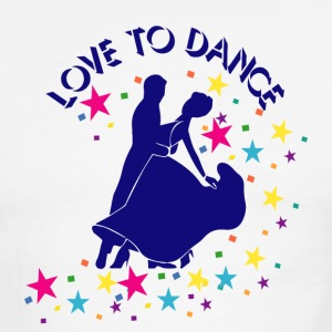 Love to dance T-Shirts - Men's Ringer T-Shirt