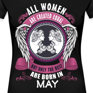 all men are created equal but only the best are b T-Shirts - Women's Premium T-Shirt