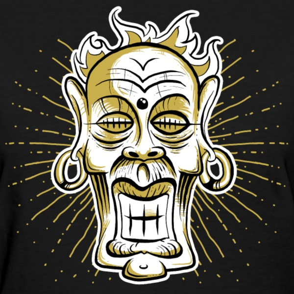 mayan mask T-Shirts - Women's T-Shirt