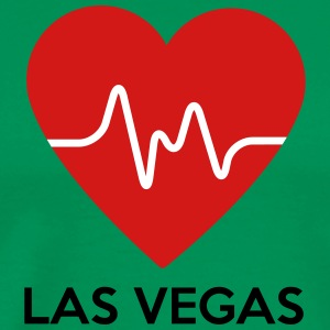 Heart Las Vegas - Men's Premium T-Shirt