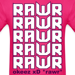 rawr xD - Men's T-Shirt