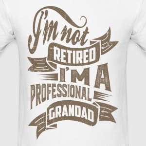 Professional Grandad. T-shirt for Him! - Men's T-Shirt