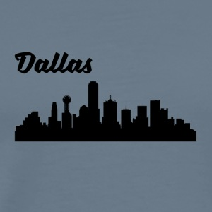Dallas TX Skyline - Men's Premium T-Shirt