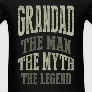 Grandad The Man T-shirts Gifts - Men's T-Shirt