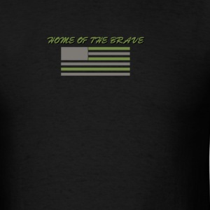 HOME OF THE BRAVE TEE - Men's T-Shirt