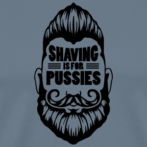 shaving_Ai_source_file - Men's Premium T-Shirt