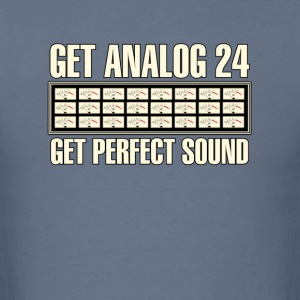 Get Analog 24 white - Men's T-Shirt
