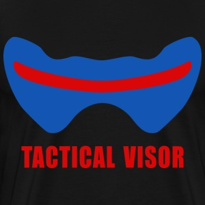 soldier 76 visor 3 - Men's Premium T-Shirt