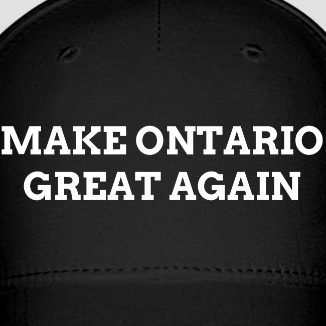 Make Ontario Great Again Fitted Hat