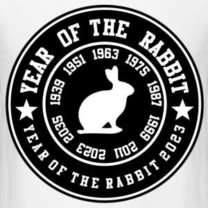 year of the rabbit 23787831682638123.png T-Shirts - Men's T-Shirt